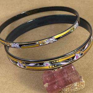 Vintage Matching Michaela Frey Designer Bracelets
